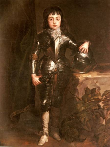Portrait Of Charles II When Prince Of Wales